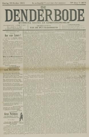 De Denderbode 1915-10-10