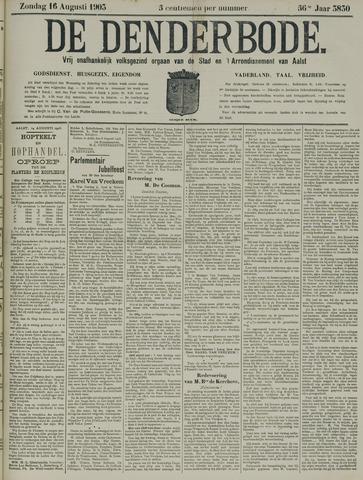De Denderbode 1903-08-16