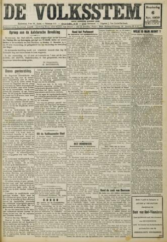 De Volksstem 1930-11-06