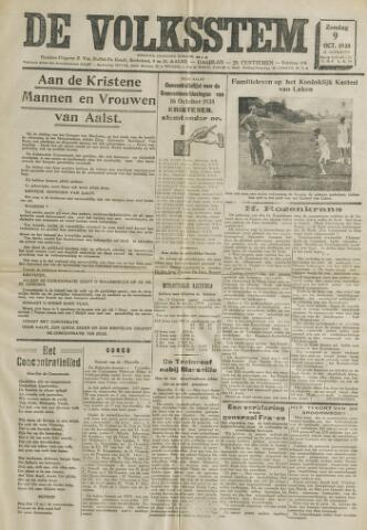 De Volksstem 1938-10-09