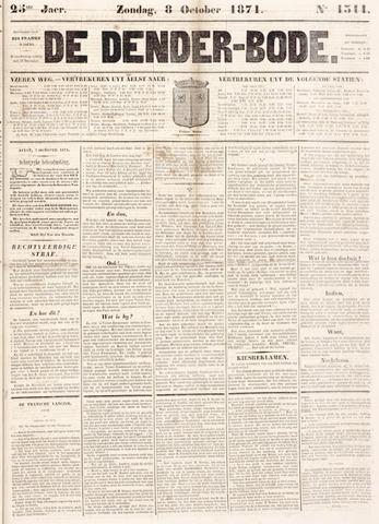 De Denderbode 1871-10-08