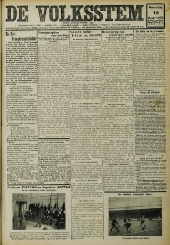 De Volksstem 1932-03-10