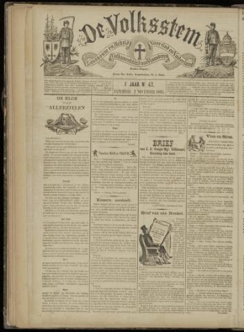 De Volksstem 1895-11-02