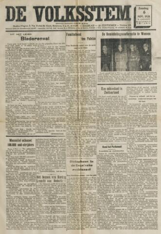 De Volksstem 1938-11-06