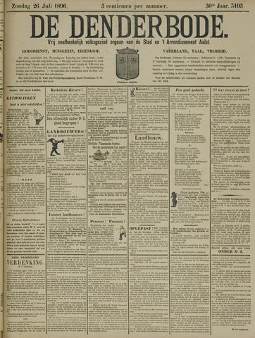 De Denderbode 1896-07-26