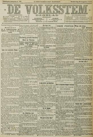 De Volksstem 1914-08-20