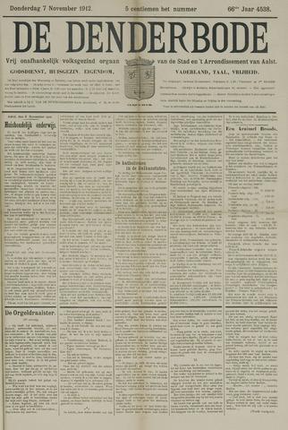 De Denderbode 1912-11-07