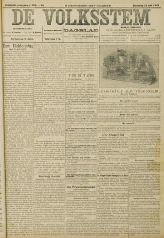 De Volksstem 1910-07-12