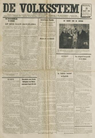 De Volksstem 1938-03-31