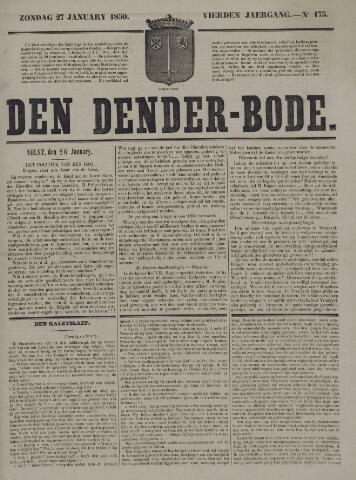 De Denderbode 1850-01-27