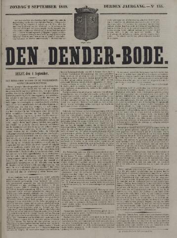 De Denderbode 1849-09-02