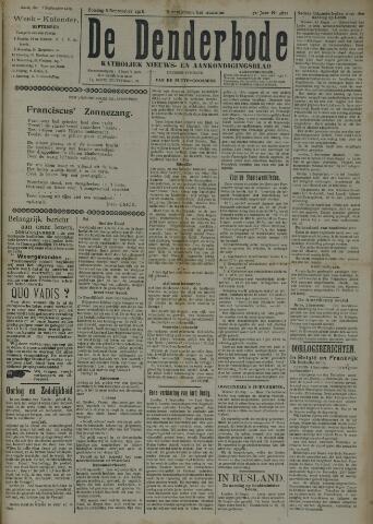 De Denderbode 1918-09-08