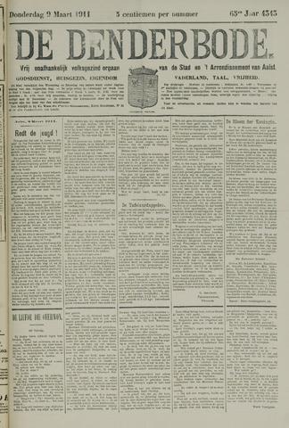 De Denderbode 1911-03-09