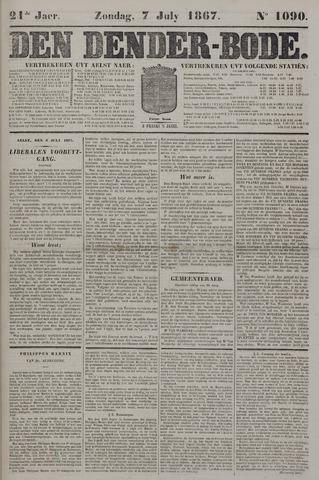 De Denderbode 1867-07-07