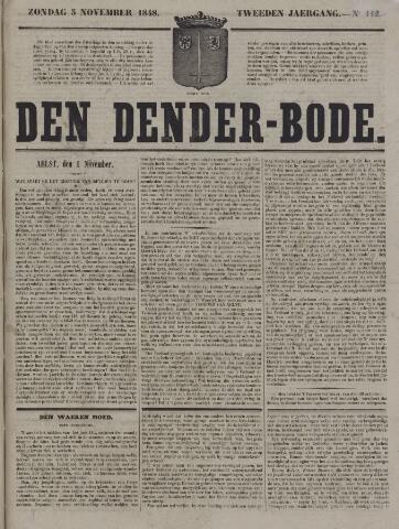 De Denderbode 1848-11-05