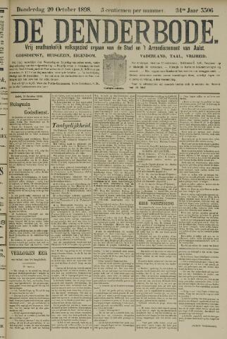De Denderbode 1898-10-20