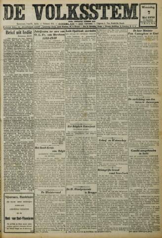 De Volksstem 1930-05-07