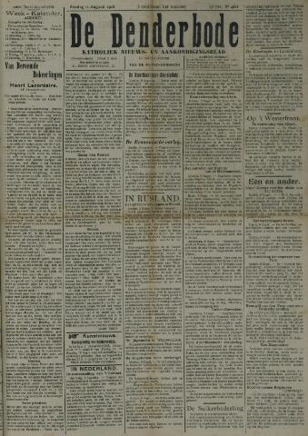 De Denderbode 1918-08-11
