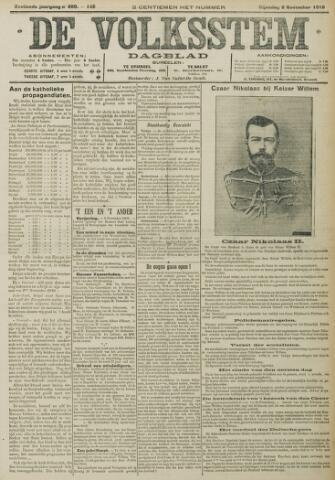 De Volksstem 1910-11-08