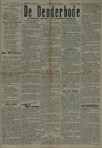 De Denderbode 1918-08-25