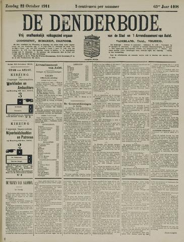 De Denderbode 1911-10-22
