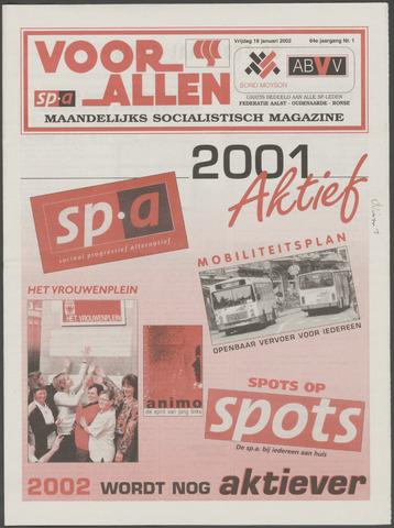 Voor Allen 2002-01-18
