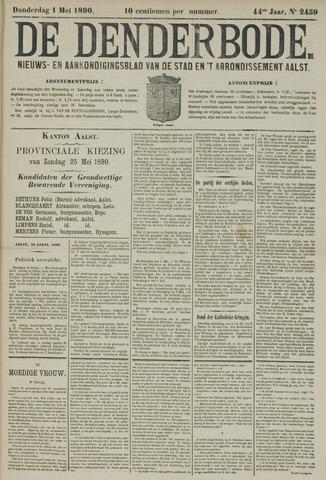 De Denderbode 1890-05-01
