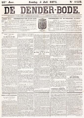 De Denderbode 1874-07-05
