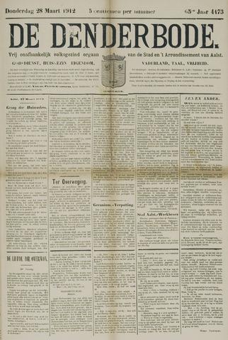 De Denderbode 1912-03-28