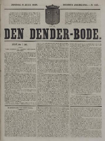 De Denderbode 1849-07-08