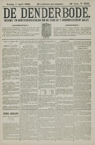 De Denderbode 1888-04-01
