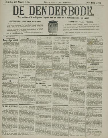 De Denderbode 1903-03-22