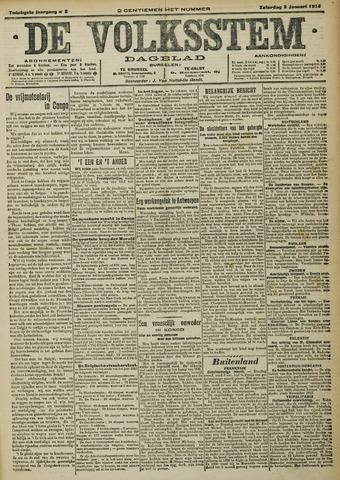 De Volksstem 1914-01-02