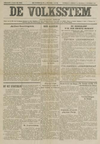 De Volksstem 1941-11-01