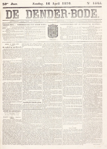 De Denderbode 1876-04-16