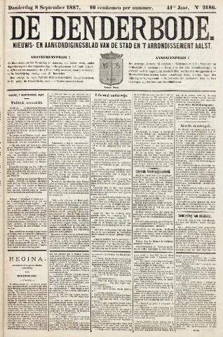 De Denderbode 1887-09-08
