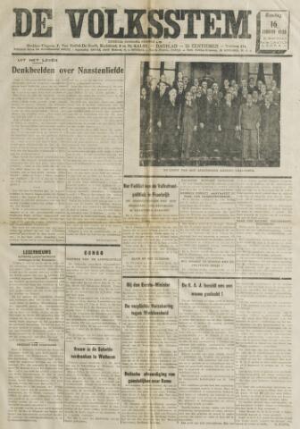 De Volksstem 1938-01-16