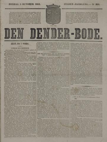 De Denderbode 1851-10-05