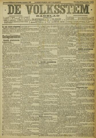 De Volksstem 1915-09-28