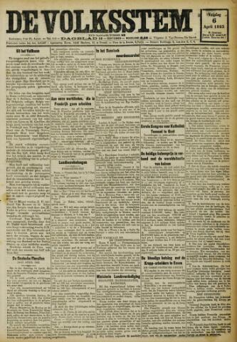 De Volksstem 1923-04-06