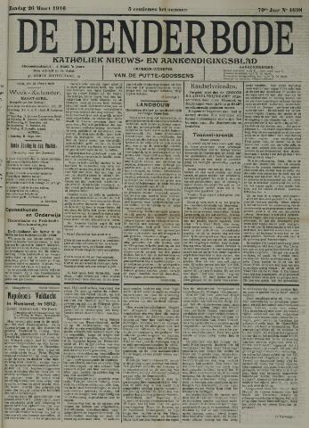 De Denderbode 1916-03-26