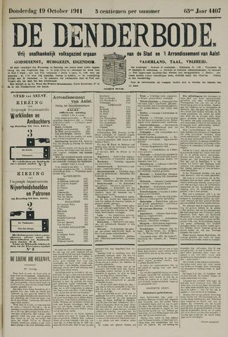 De Denderbode 1911-10-19