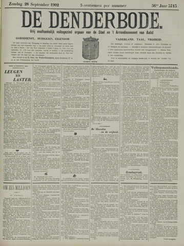 De Denderbode 1902-09-28