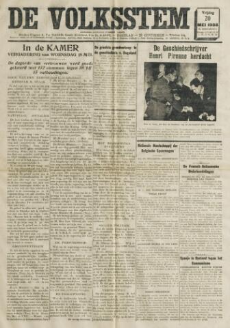 De Volksstem 1938-05-20