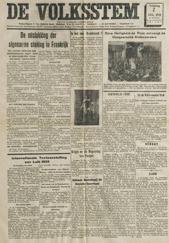 De Volksstem 1938-12-02
