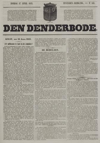 De Denderbode 1853-04-17