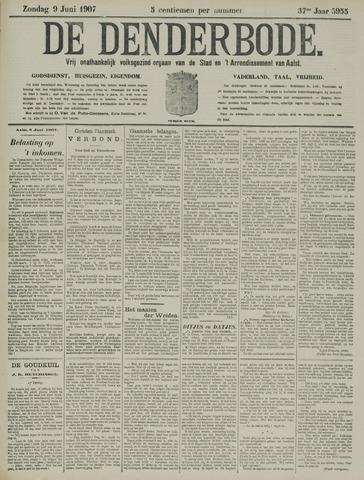 De Denderbode 1907-06-09