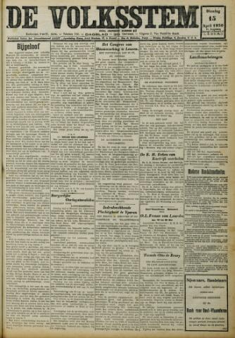 De Volksstem 1930-04-15