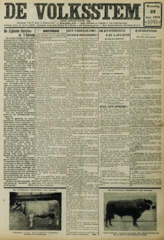 De Volksstem 1932-06-22