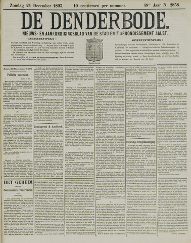 De Denderbode 1893-12-24